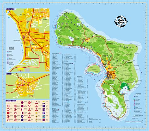 printable curacao road map bonaire tourist map bonaire mappery