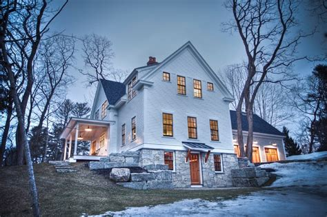 Farmhouse   Traditional   Exterior   Portland Maine   by
