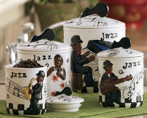 cute kitchen canister sets jazz canister set cute kitchen cannisters pinterest