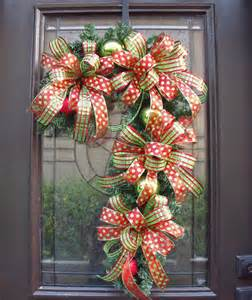 Candy cane wreath christmas wreath candy cane by luxewreaths