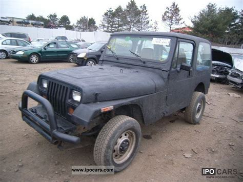 1992 Jeep Wrangler Fuel 1992 Jeep Wrangler Car Photo And Specs