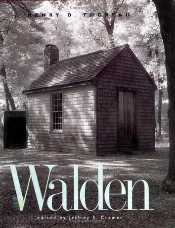 walden literature book books by henry david thoreau