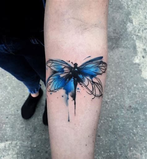 watercolor dragonfly tattoo designs 45 fascinating dragonfly designs tattooblend