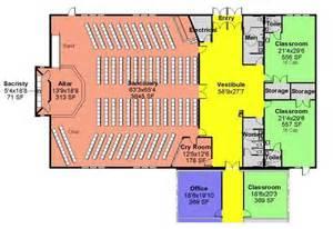 floor plans for churches church floor plans