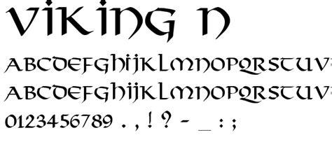 viking tattoo lettering viking n free font download font supply