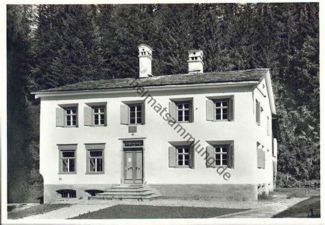 nietzsche haus sils historische ansichtskarten kanton graub 252 nden sils 02