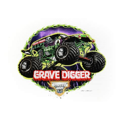 grave digger truck poster jam grave digger edible image cake decoration at