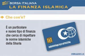 banche d investimento italiane finanza islamica borsa italiana