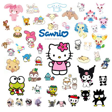 Hadlayer Caracter Hello Kity the kawaii world of sanrio get to the characters