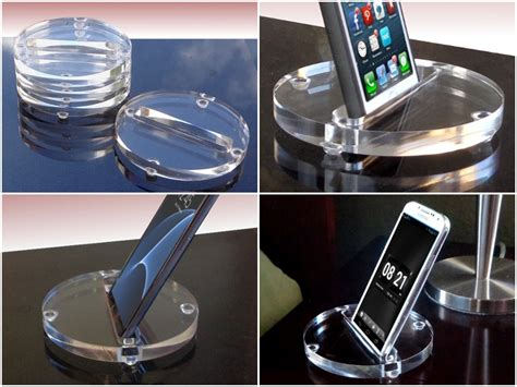 Acrylic Stand Untuk Smartphone 5 useful and convenient acrylic coasters stands and wall mounts for smartphones and tablets