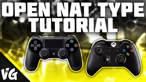 tutorial nat ps4 how to get an open nat type on ps4 xbox one pc impr