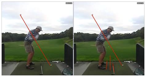 parallel swing plane why a shaft that points at the top or outside the ball on