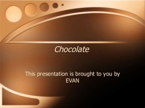chocolate templates for powerpoint free download chocolate presentation