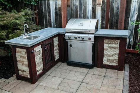 diy outdoor kitchen cabinets 15 outdoor kitchen designs that you can help diy
