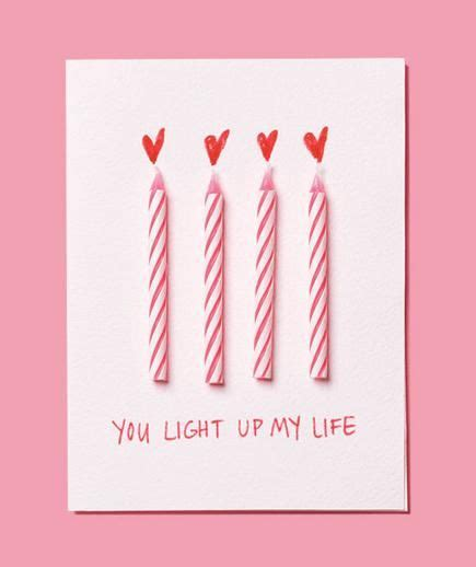 valentines birthday card birthday candles as s day card pictures photos