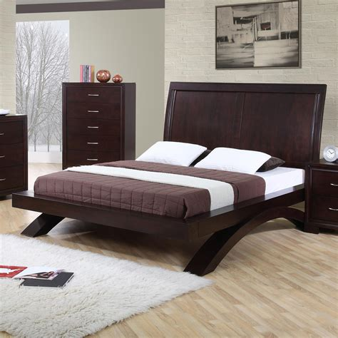 elements international raven king contemporary platform bed becker furniture world platform
