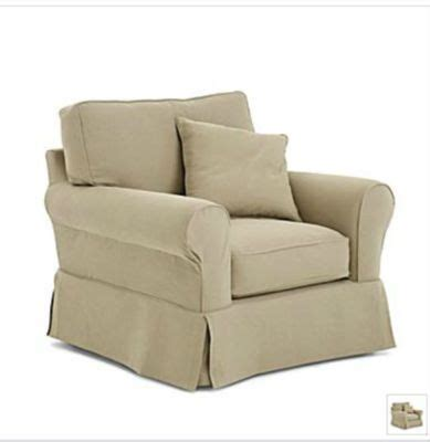 linden street slipcovers friday chair extra slipcover linden street khaki new
