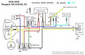 peugeot wiring diagrams moped wiki