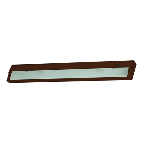 Progress Lighting 9 In Led Antique Bronze Undercabinet Cabinet Lighting Home Depot