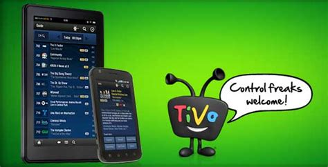 tivo app for android tivo app for android tablets launches slashgear
