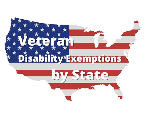 veteran disability exemptions by state va hlc