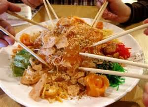 new year lo hei greetings my cultural a day during new year