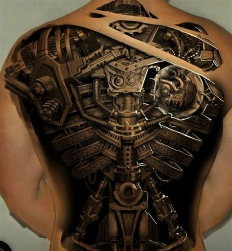 Biomechanik Vorlagen by Biomechanik Motive Geile Tattoos 3d R 252 Cken