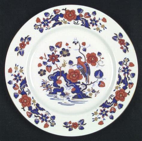 china pattern on blue bloods quot bird of paradise quot china pattern with red blue flowers