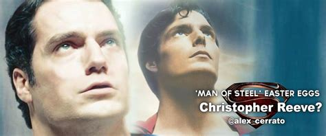 christopher reeve en man of steel man of steel d 233 couvrez les easters eggs du film d 233 voil 233 s