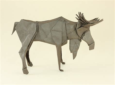 Origami Moose - origami animals