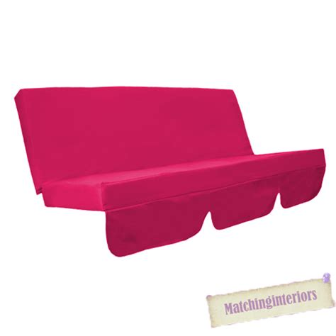pink bench cushion cerise pink water resistant bench cushion for swing