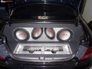 Car Audio Lighting Systems Custom Boot Enclosure For Vy Commodore Boostcruising