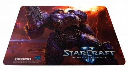 Original Steelseries Kerrigan Mousepad Limited Edition steelseries starcraft ii gaming keyboard and mouse pads