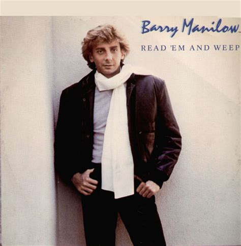 Read Em And Weep barry manilow read em and weep arista vinyl 12 inch arist