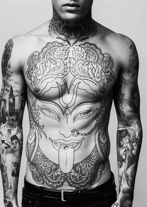 tattoo full body man stephen james by darren black