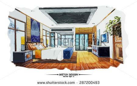 interior design paper interior design sketch stock images royalty free images