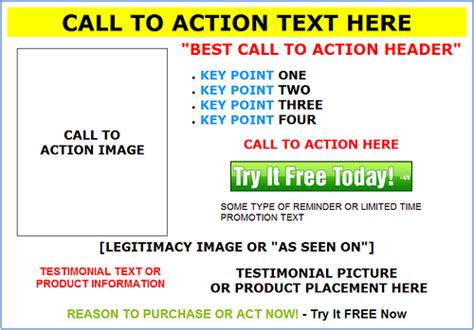 landing pages free templates free landing page templates ppc org