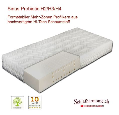 matratzenkern kaufen matratze sinus probiotic 7 zonen matratzenkern