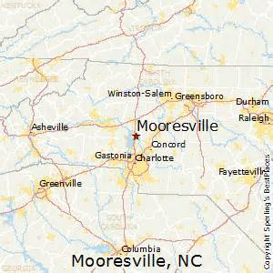 best places to live in mooresville carolina