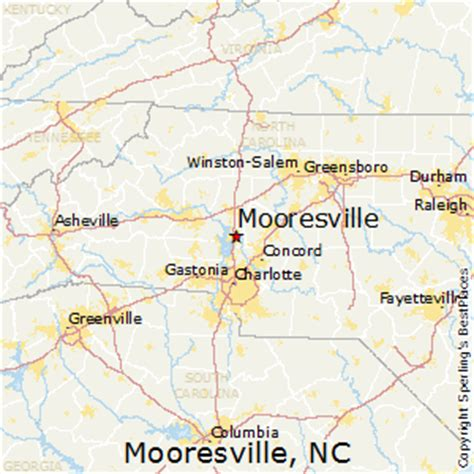 map of mooresville carolina best places to live in mooresville carolina