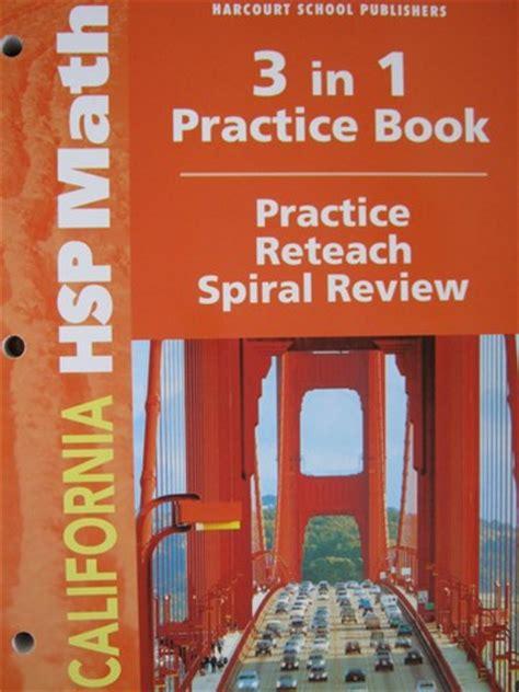 California Mathematics 6 Practice Workbook Ca P