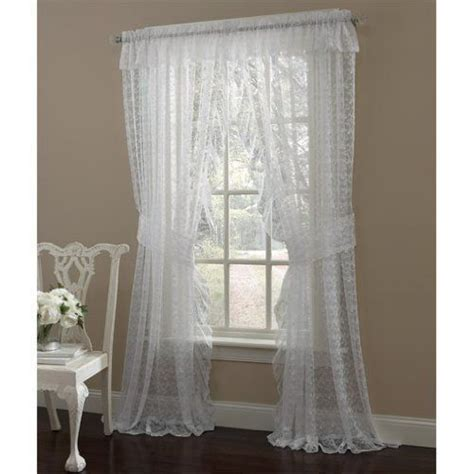 white frilly curtains lace curtains curtains and lace on pinterest