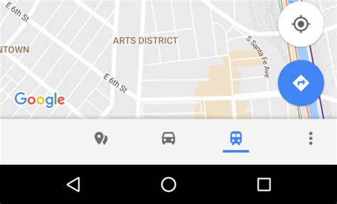 google design bottom bar google maps brings bottom bar with transit nearby