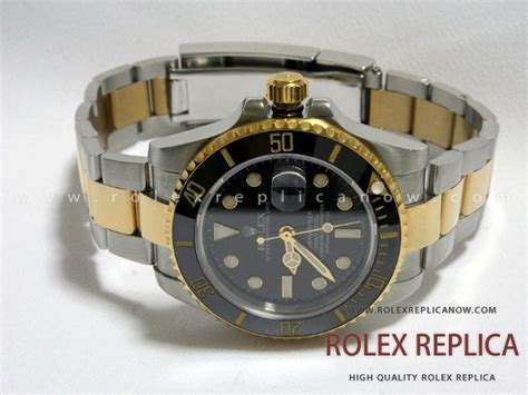 Rolex Sea Dweller Pro Automatic Grade Aaa rolex submariner date replica black steel and gold swiss