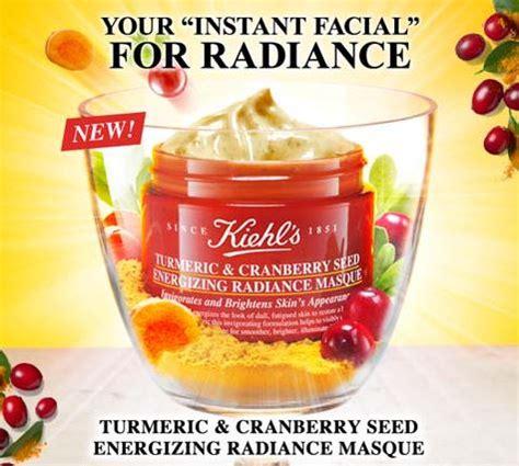 Turmeric Cranberry Seed Energizing Radiance Masque ขาย kiehl s cilantro orange extract pollutant defending masque 75 ml มาส กท ช วยฟ นบำร งและ