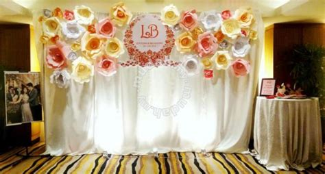 wedding table backdrop for sale wedding decoration paper flower backdrop wedding for