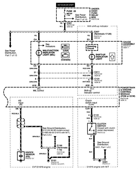 96 honda civic stereo wiring diagram get free image
