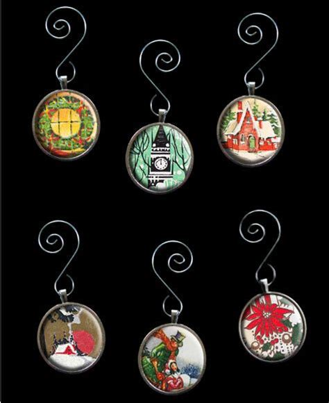 make your own christmas decorations kit make your own glass picture ornaments kit 6 ideas
