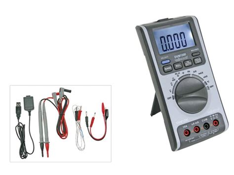 dvm1200 multimeter with usb interface 6 000 counts