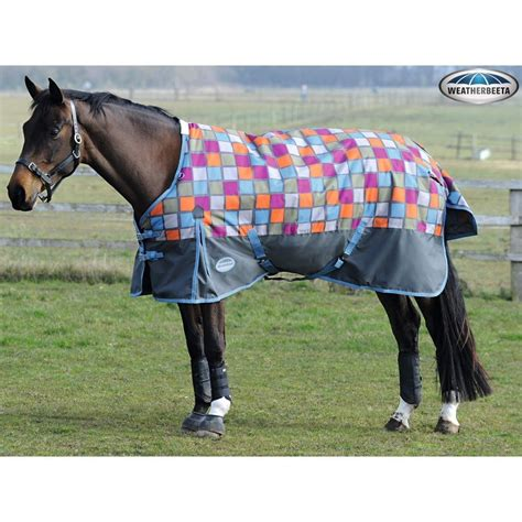 Weatherbeeta Pony Rugs by Weatherbeeta 1200d Medium Weight Standard Neck Turnout Rug